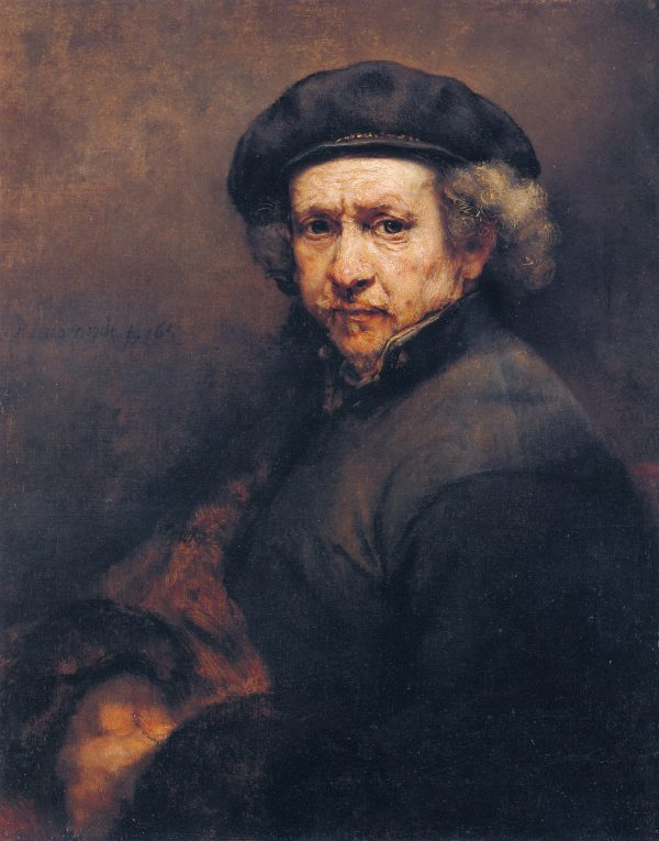 Self-portrait of Rembrandt in 1659