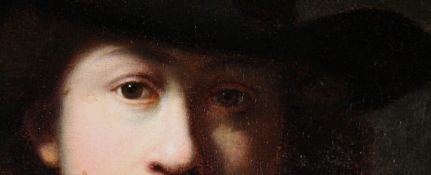 A peek at possible youngest self-portrait of Rembrandt