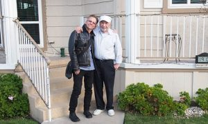 After Decades Fighting Tumors, He Finally Met His Dad