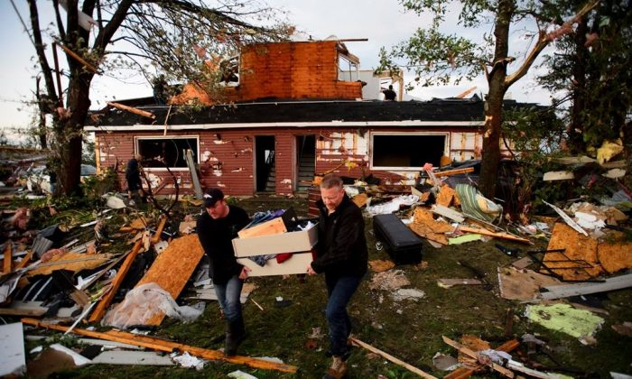 Houses were destroyed after a tornado blasted Dunrobin and Gatineau in the Ottawa area in the afternoon of Sept. 21, 2018. (The Canadian Press)
