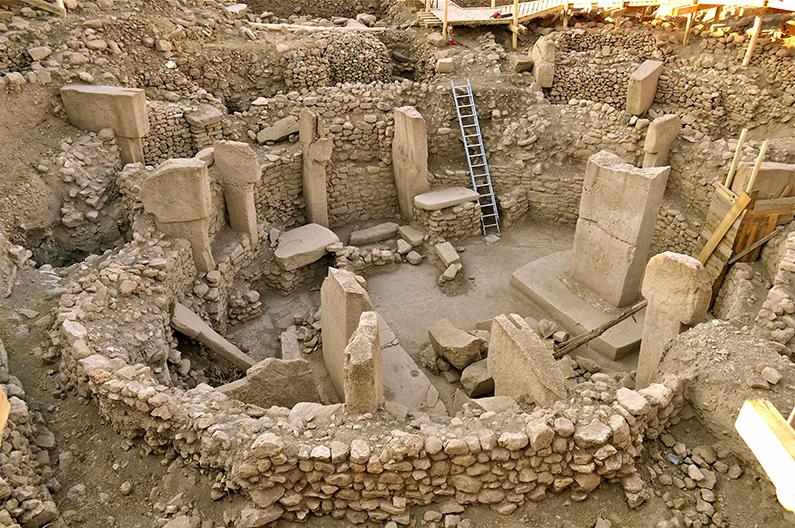 Excavations at Gobekli Tepe