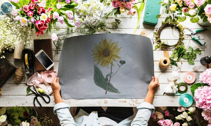 Arts and crafts may benefit your health in unexpected ways.  (Chuck Hildebrant/Unsplash)