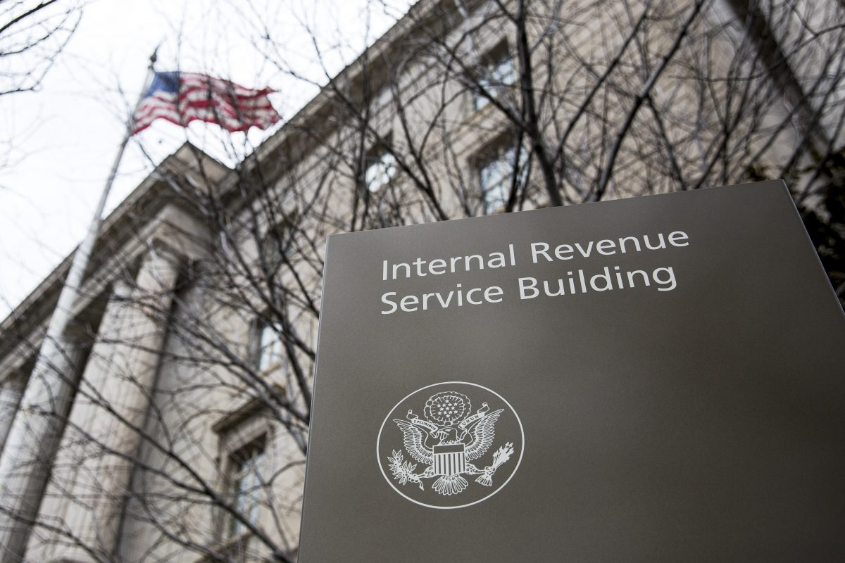 Internal Revenue Service Headquarters (IRS) Building in Washington