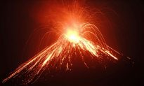 Deadly 'Child of Krakatau' Volcano Erupts 56 Times in Indonesia