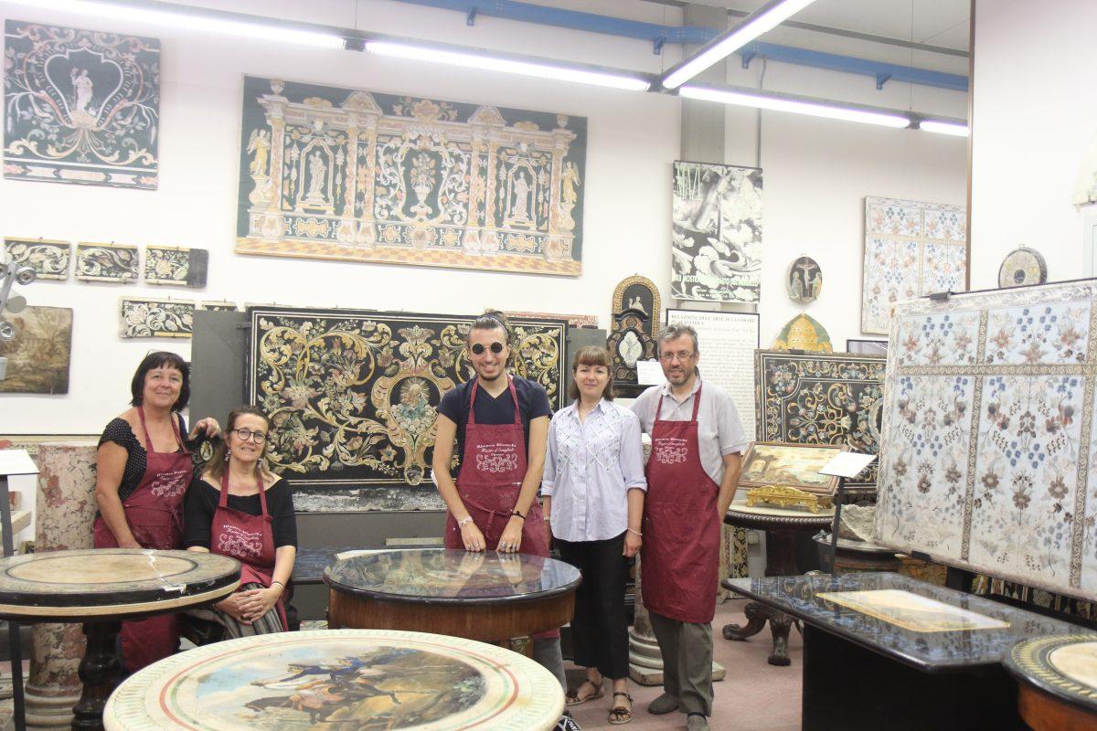 Bianco Bianchi workshop Pontassieve, Italy