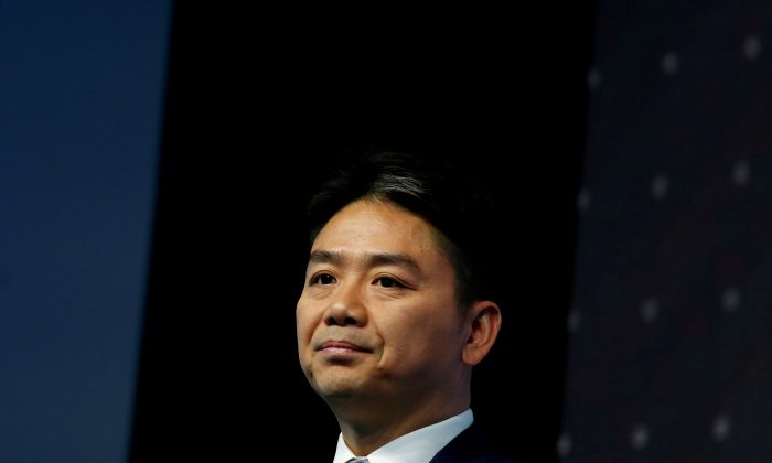 JD.com founder Richard Liu attends a business forum in Hong Kong, China on June 9, 2017. (Bobby Yip/Reuters)
