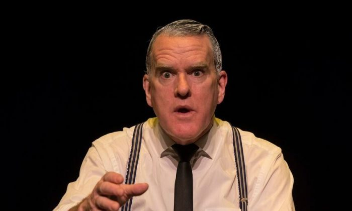 "Mikel Murfi as he appears in ""I Heart You and Rejoice."" (Pat Redmond)"