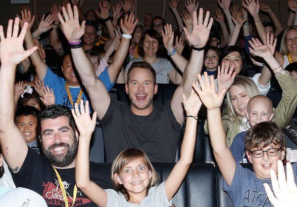 Jurassic World: Fallen Kingdom Screening With Chris Pratt