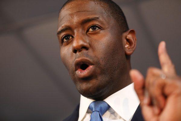 Democratic candidate for Florida Governor Andrew Gillum