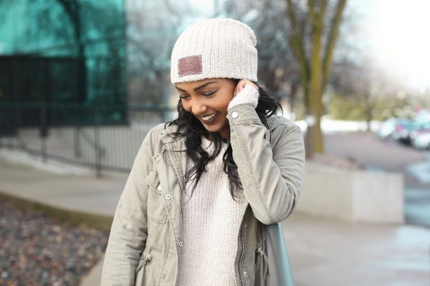 Love Your Melon sells knit, 100 percent cotton beanies to raise funds for charities working to combat pediatric cancer. (Courtesy of Love Your Melon)