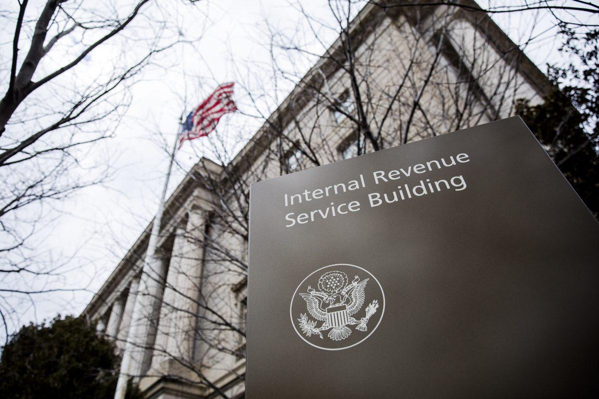 Internal Revenue Service Headquarters (IRS) Building in Washington