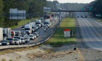 I-95 Completely Reopens After Hurricane Florence Floods Recede