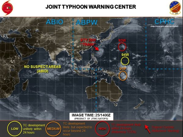 typhoon warning map