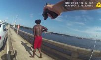 Video: Man Throws Another Man Off Florida Bridge, Officer Then Pulls His Gun