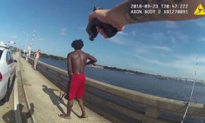 Video: Man Throws Another Man Off Florida Bridge, Officer Then Pulls His Gun