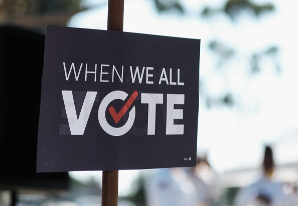 200,000 16- and 17-year-olds have  preregistered to vote. in California. (Sarah Morris/Getty Images)