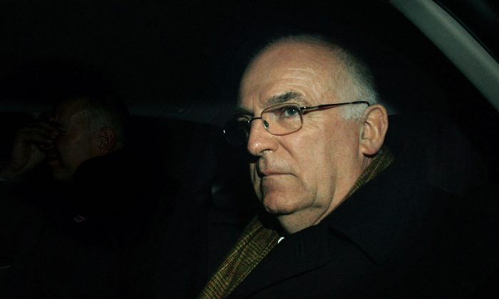 Former MI6 head Sir Richard Dearlove in London on Feb. 20, 2008. (Cate Gillon/Getty Images)