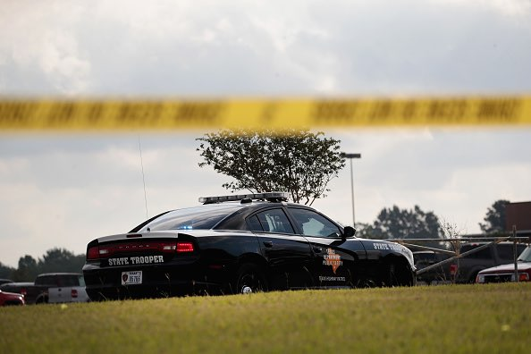 A Texas inmate was executed for fatally running over his girlfriend in a jealous rage more than 18 years ago.  (Scott Olson/Getty Images)