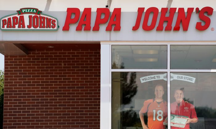 The Papa John's store in Westminster, Colorado, U.S. August 1, 2017.  (By Rick Wilking/Reuters)