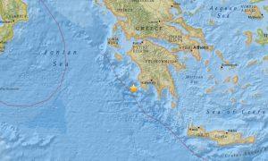 Earthquake Today: Greece Struck by 5.2-Magnitude Quake