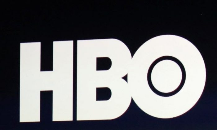 FILE PHOTO: HBO logo is on display during an Apple event in San Francisco, California, U.S., March 9, 2015. (Robert Galbraith/REUTERS)