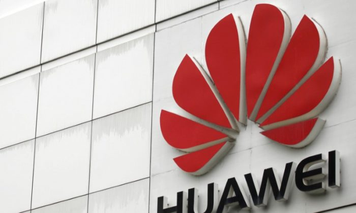 The logo of Huawei Technologies Co. Ltd.  seen outside its headquarters in Shenzhen, Guangdong Province, China on April 17, 2012. (Tyrone Siu/Reuters)