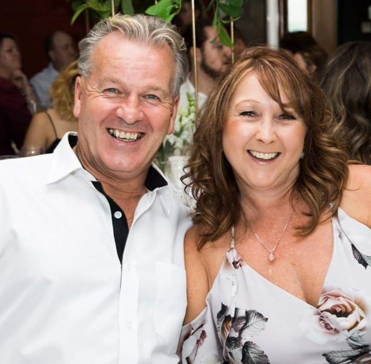 Billy Willox and his partner Kerrie Venables