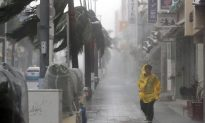 Powerful Typhoon Approaches Southern Japan, Charts Course for Main Island