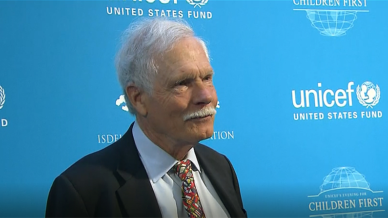 Ted Turner has given $1 billion to UN