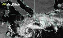Rare Hurricane-Like 'Medicane' Storm Hits Europe