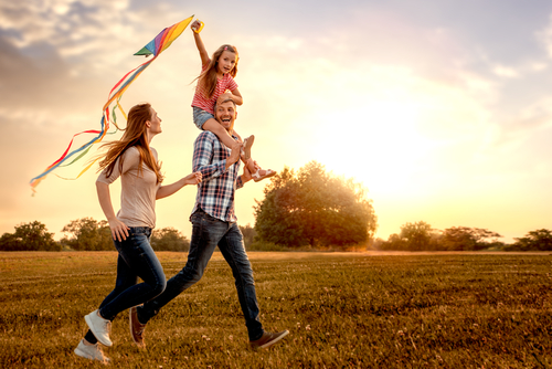 Living a minimalist life has modeled for my kids that personal belongings are not the key to happiness, that security is found in their character. (Shutterstock)