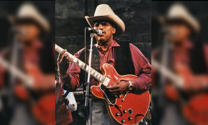 Otis Rush performing at Notodden bluesfestival, Norway, in 1997. (Svein M Agnalt [CC BY-SA 3.0  (https://creativecommons.org/licenses/by-sa/3.0)] from Wikimedia Commons)