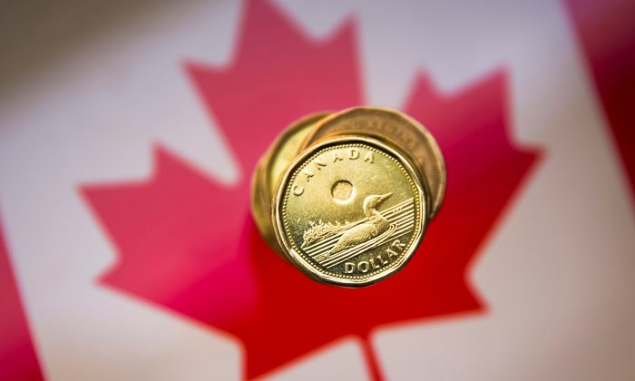 "A Canadian dollar coin, commonly known as the ""Loonie"", is pictured in this illustration picture taken in Toronto, Ontario, Canada, Jan. 23, 2015. (Mark Blinch/Reuters)"
