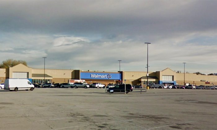 The shooting took place in the parking lot of this Walmart store in the Southlake Mall on U.S. 30. (Google Map screenshot)