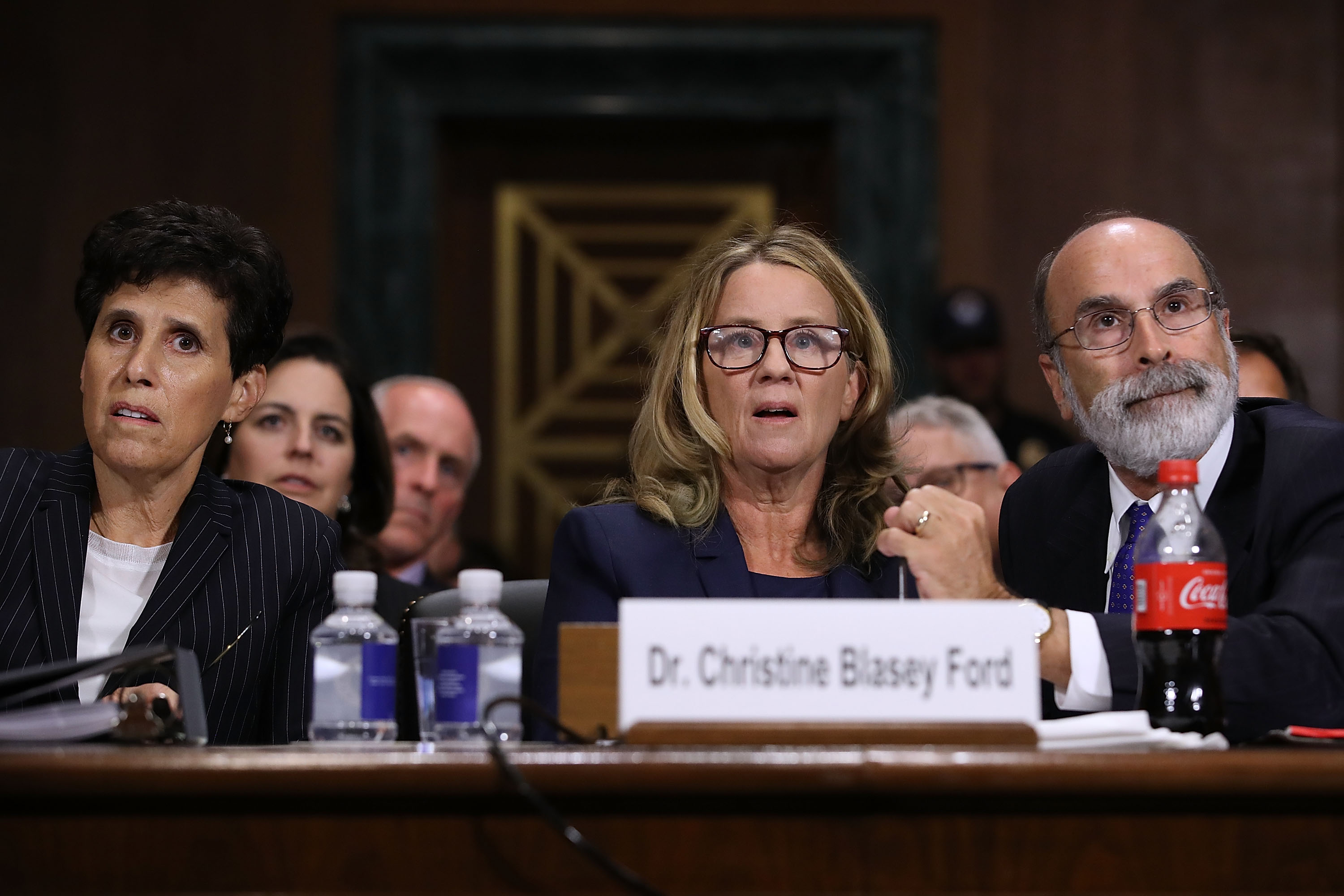 Christine Blasey Ford may have lied