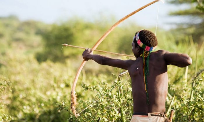 Hunter gatherer societies lived much longer than most people believe, likely thanks in part to their active lifestyles. (erichon/Shutterstock)
