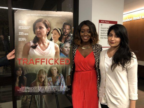 Actress Jessica Obilom and Alpa Banker