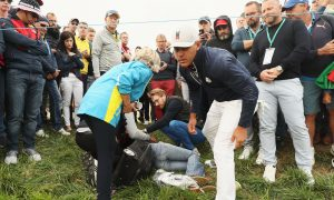 Ryder Cup Spectator Hit by Golf Ball Loses Sight in Eye, May Sue