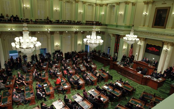 Jerry Brown Delivers California State Of The State Address in 2011