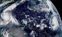 Super Typhoon Kong-rey Blowing Toward Japan