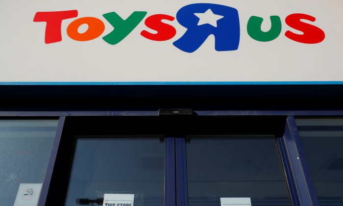 A closed Toys 'R' Us store is seen near York, Britain on March 21, 2018.   (Phil Noble/REUTERS)