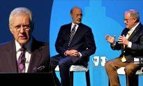 'Jeopardy' Host Alex Trebek Moderates Gubernatorial Debate in Pennsylvania
