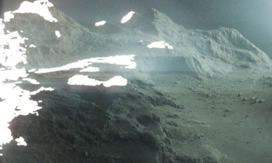 Photo Taken by Spacecraft Shows What It's Like to Stand on Comet