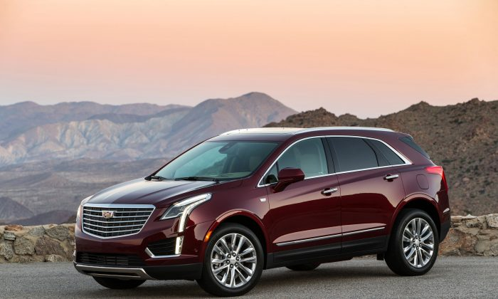 2019 Cadillac XT5 Platinum. (Courtesy of Cadillac)