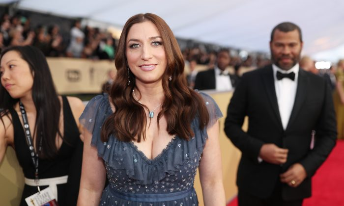 Actor Chelsea Peretti attends the 24th Annual Screen Actors Guild Awards at The Shrine Auditorium in Los Angeles, Calif. on Jan. 21, 2018. (Christopher Polk/Getty Images for Turner)