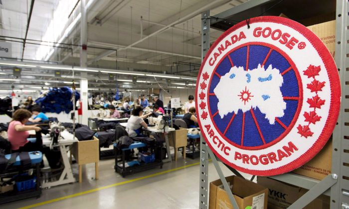 CanadaGoose's CEO Dani Reiss has spent considerable time and money trying to stop the flow of counterfeited goods, but he admits they can have benefits. (The Canadian Press/Nathan Denette)
