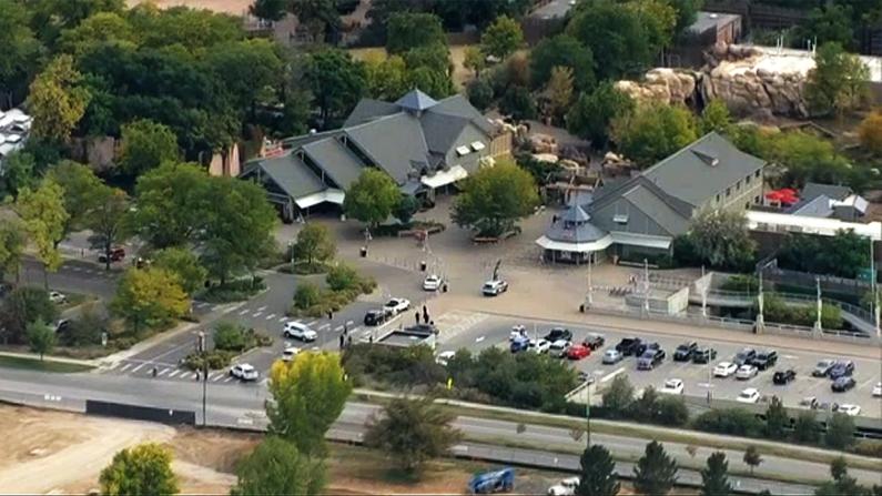 Aerial view of Denver Zoo
