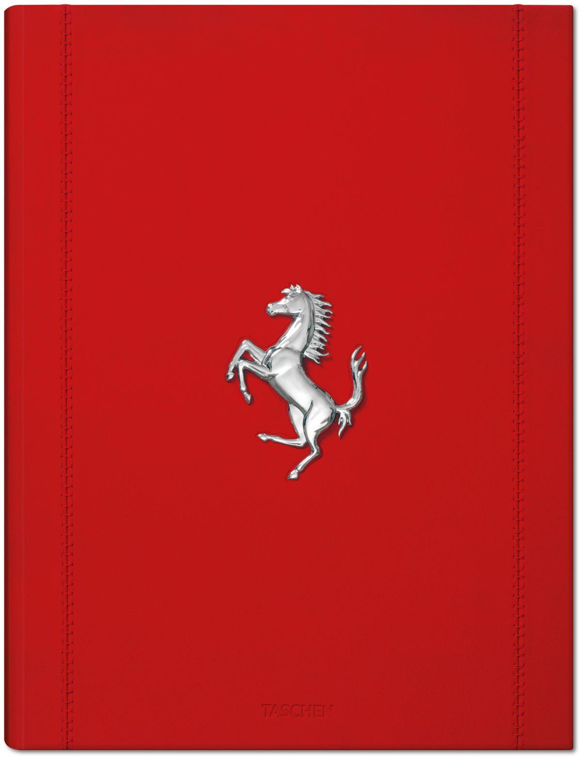 Ferrari with prancing horse motif