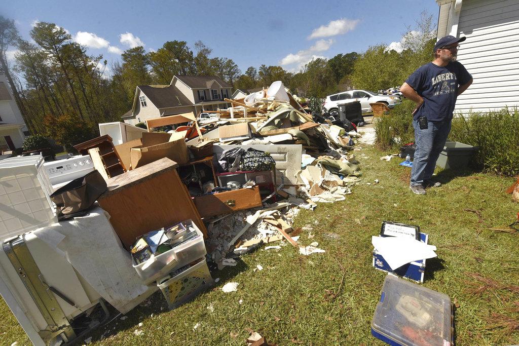 Hurricane Florence Debris