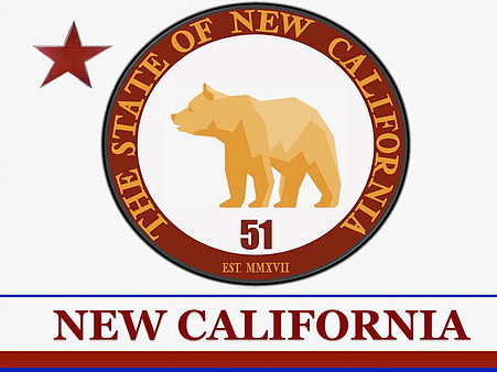Seal for New California proposed by Paul Preston. (Screenshot/newcaliforniastate.com)